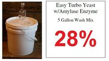 (1) Package Of 5 Gallon Turbo Yeast --- Alcohol Whiskey Rum Vodka Moonshine