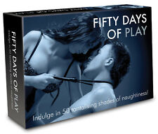 FIFTY DAYS OF PLAY GAME Adults Only Sex Aid 50 SHADES OF NAUGHTINESS ADULT