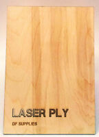Laser Grade Birch Plywood - A5, A4 & A3 - 0.8mm 1.5mm 3mm 4mm 6mm