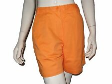 Casual Corner Women's Mango Size 16 Flat Front Cotton Shorts