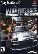 Wreckless: THE YAKUZA MISSIONS - FOR PS2 PS3 GAME ⓤⓚ ⓢⓔⓛⓛⓔⓡ Ŧครt ק๏รt ENGLISH