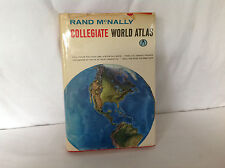 Rand McNally Collegiate World Atlas ( Hardcover 1962 )