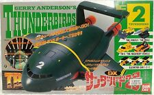 THUNDERBIRDS : THUNDERBIRD 2 WITH POD VEHICLES & PILOTS MADE BY BAN DAI IN 1992