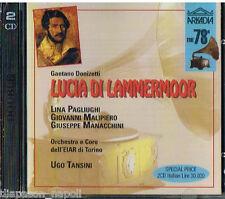 Donizetti: Lucia Di Lammermoor / Tansini, Malipiero, Manacchini Torino 1942 - CD