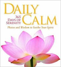 Daily Calm : 365 Days of Serenity by National Geographic (2013, HC) Free Ship !!