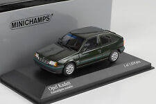 1989 Opel Kadett E 1.8i Dream Green verde metalizado Minichamps 1:43