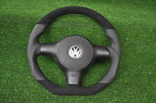 Volante volante de cuero golf VW Polo 6n2 Lupo 6n 1999-2001 + airbag impecable!