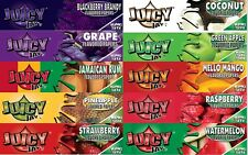 Set (10 different booklets) Mix Juicy Jays flavored Rolling Papers King Size