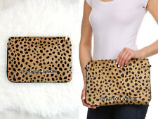 *CHEETAH LEOPARD PRINT CLUTCH Purse Animal Faux Fur Purse Evening Bag