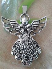 hübscher Engel Anhänger für Halskette Silber Schutzengel Religion Schutz Fantasy