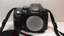 Pentax K K-500 16.3MP Digital SLR Camera - Black BODY +BATTERY +CHARGER