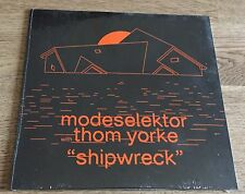 "MODESELEKTOR feat. THOM YORKE - Shipwreck 7"" LTD ORANGE VINYL NEW/OVP Radiohead"