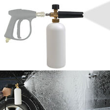 "Hot Car 1/4"" F Inlet Adjustable Snow Foam Lance Washer Soap 1L Bottle Wash Gun"