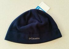 NWT Columbia Fast Trek Fleece Hat Navy L / XL Beanie WINTER Unisex WARM   145915