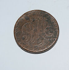 Antique pays de galles jeton. the anglesey mines 1 penny. druide 1787