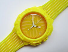 YELLOW Run SWATCH CHRONO-suij 400-nuovi e mai indossati
