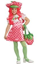 Strawberry Shortcake Costume Kids Girls Childs Deluxe - Medium 8-10 - Fast Ship