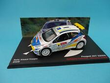 PEUGEOT 207 S2000 - G. CANIVENQ - RALLY ALSACE VOSGES 2009 - 1/43 NEW IXO ALTAYA