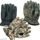 THERMOBLOCK Insulated Warm Winter Hunting Gloves ACU Black Woodland Camo S-XL