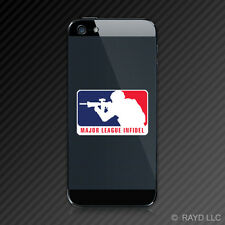 Major League Infidel Cell Phone Sticker Decal Self Adhesive Mobile MLI