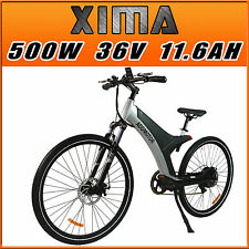 """Addmotor XIMA X1 29"""" City E-bike Electric bicycles 500W 11.6AH Fork Suspension"""