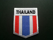 HEAVY METAL PUNK ROCK MUSIC SEW / IRON ON PATCH:- THAILAND FLAG (a)