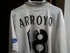 Camiseta Valencia cf 95/96 Arroyo Match Worn XL Jersey Luanvi Shirt