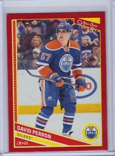 2013-14 O-Pee-Chee Red Border Parallel #605 David Perron SSP