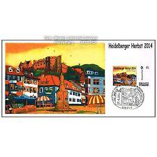 """BRIEFMARKE INDIVIDUELL Maximumkarte """"Heidelberger Herbst 2014""""  G. Hofmann, NEU"""