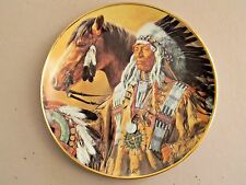 Pride of the Sioux  by Paul Calle - Collector Plate - Franklin Mint