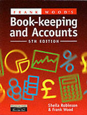 Frank Wood's Book-keeping and Accounts, 5th Ed., Robinson, Sheila Paperback Book