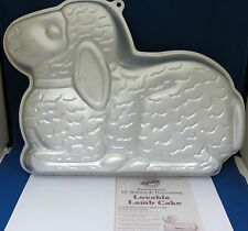 Wilton Lovable Lamb Baking Cake Pan 2105-2514 Easter w Copy of Instructions
