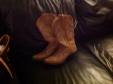 STARE BOOTS MEXICO Ladies 7,5 - Brown Leather Western Cowboy BOOTS