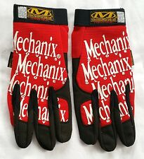 NWOT Mechanics Gloves Original Style Small Red