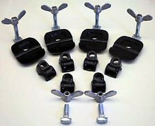 VW TYPE 2 BUS INTERIOR BENCH SEAT CLAMP SET