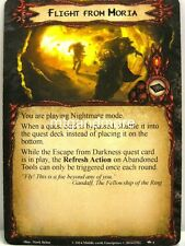Lord of the Rings LCG  - 1x Flight from Moria  #001 - Nightmare Deck Khazad-Dum