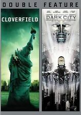 Cloverfield/Dark City (Brand New) (DVD, 2014, 2-Disc Set, Director's Cut)
