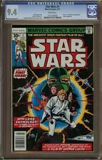 Star Wars #1 Marvel Comics Adaption, CGC 9.4 NM. White Pages