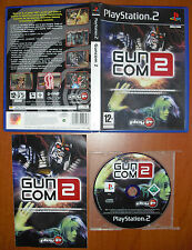 Gun Com Guncom 2 (Death Crimson OX+) PlayStation PS2 PStwo Pal-España ¡COMPLETO!