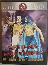 SANTO Y BLUE DEMON VS DRACULA Y EL HOMBRE LOBO - Delgado DVD