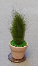 1:12 plante verte + pot maison de poupées miniature jardin fleur bush accessoire sg