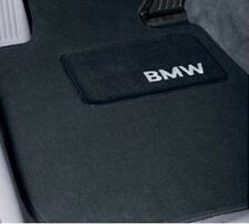 4 BMW OEM Black Floor Mats E39 525 528 530 540 7591