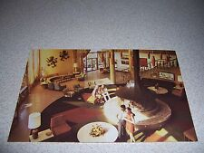 1970s LOBBY at DIPLOMAT GOLF & RACQUET CLUB HOLLYWOOD FLORIDA FL. POSTCARD