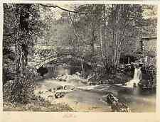 UK, Fairy Glen  Vintage albumen print.  Tirage albuminé  11x16  Circa 1870