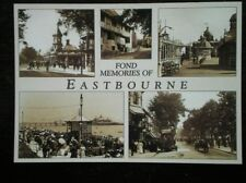 POSTCARD SUSSEX FOND MEMORIES OF EASTBOURNE