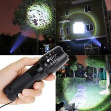 5000LM Zoomable del CREE XML T6 LED 18650 Focus antorcha lámpara zoom ED