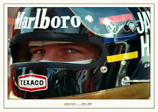 James Hunt fotografía del vintage