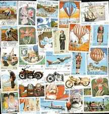 Laos 1000 timbres différents oblitérés