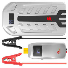 1byone Portable Auto Jump Starter for Cars and Vehicles w/ Power Bank 16000mAh