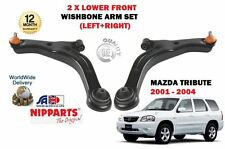 Para Mazda Tribute 2.0 3.0 + 4x4 2001 - 2004 2x de suspensión inferior Wishbone Arm Set